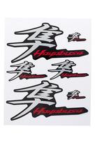 Hayabusa Premiumaufkleber