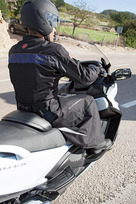 Wetterschutz für den Fahrer