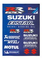 MotoGP Team Aufkleberset