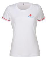 Team White T-Shirt, Damen