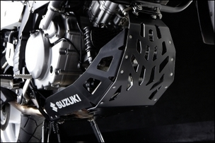 Motorschutzplatte, Schwarz