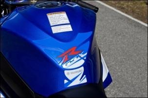 Tankpad GSX-R, Blau