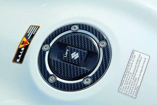 Tankdeckelschutz, Carbon Optik