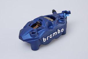 Brembo Bremssattel, blau, linke Seite
