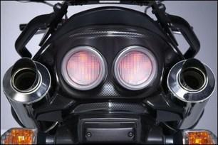 Rücklichtabdeckung, Carbon Optik