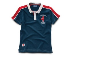 "Damen ""Engineered 4 Life"" Rugby T-Shirt"