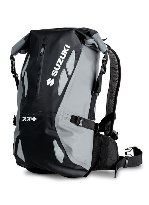 Drybag Rucksack, grau/schwarz Bild