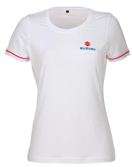 Team White T-Shirt, Damen Bild