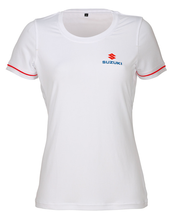 Team White T-Shirt, Damen Bild