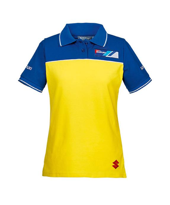 Team Yellow Polohemd, Damen Bild
