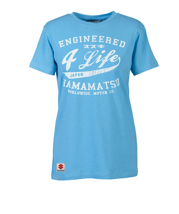 "Damen T-Shirt ""Engineered4Life"" Bild"