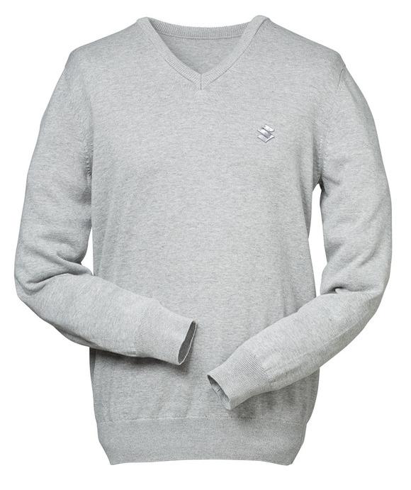 Pullover mit V-Ausschnitt Bild