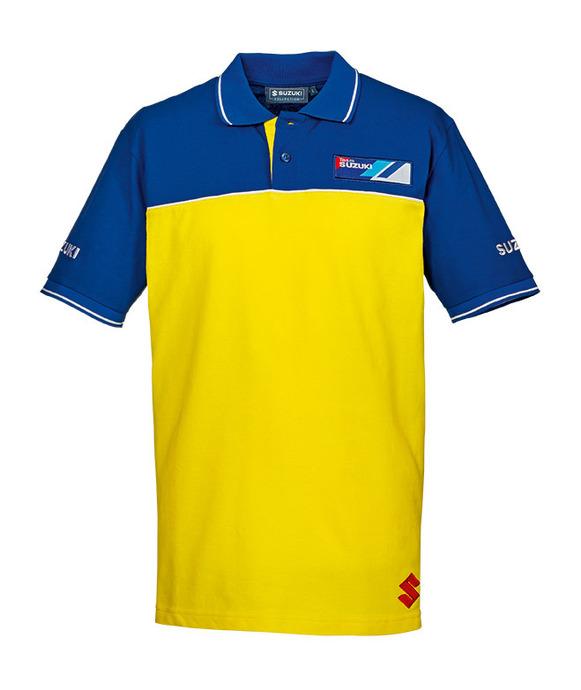 Team Yellow Polohemd Bild
