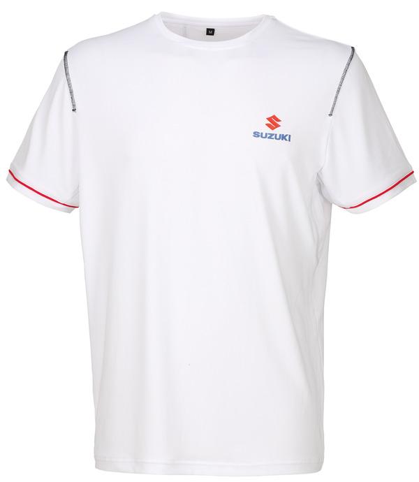 Team White T-Shirt Bild