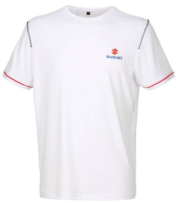 Team White T-Shirt Bild