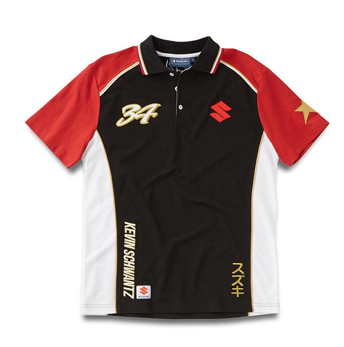 Polo-Shirt Kevin Schwantz #34 Bild
