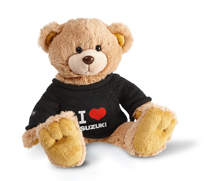 "Teddy ""I LOVE SUZUKI"" Bild"