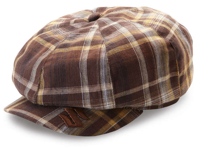 Flat Cap brown Bild