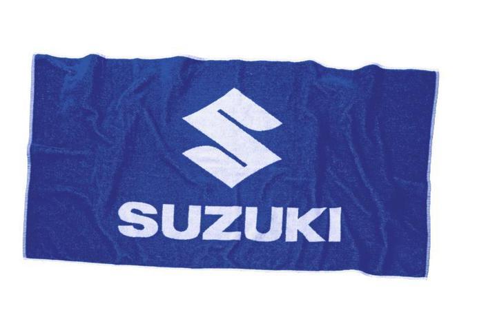 Suzuki Badetuch Bild