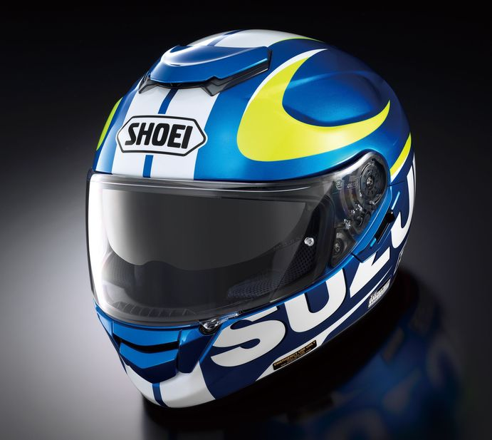 SUZUKI SHOEI GT-Air Helm Bild
