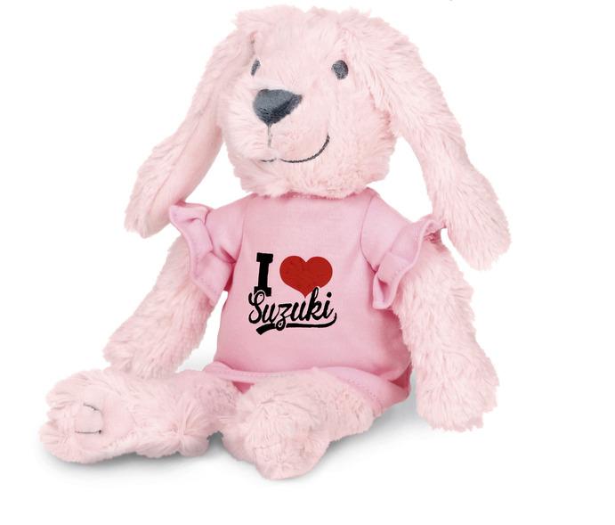 """""""I Love Suzuki"""" Bunny Bild"""