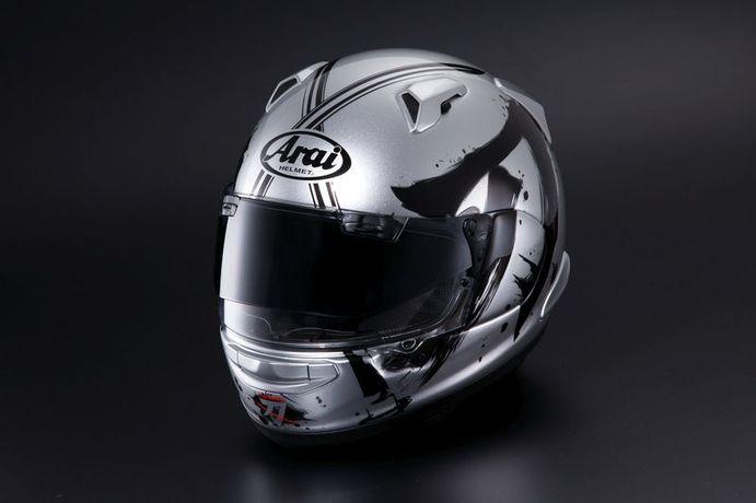 Suzuki Katana Arai QV-Pro Helm Bild