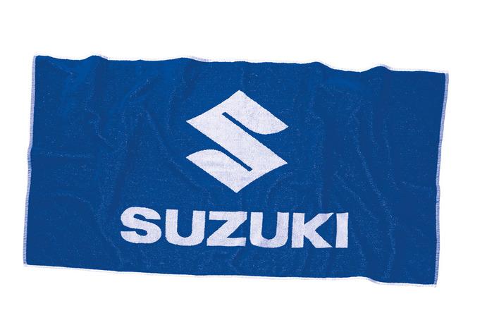 Suzuki Handtuch Bild