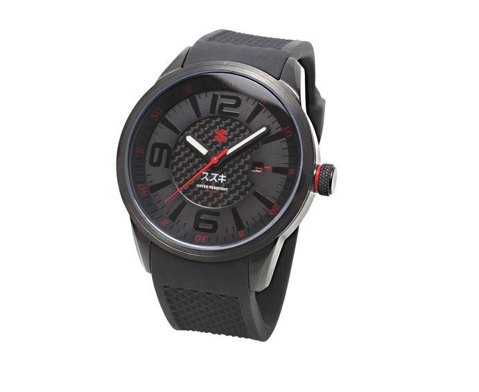 "Suzuki ""Black Edition"" Armbanduhr Bild"