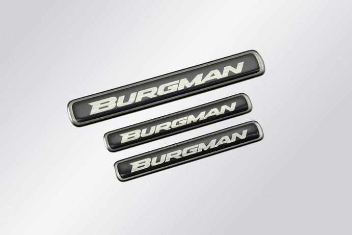 "Schriftzug ""Burgman"" Bild"