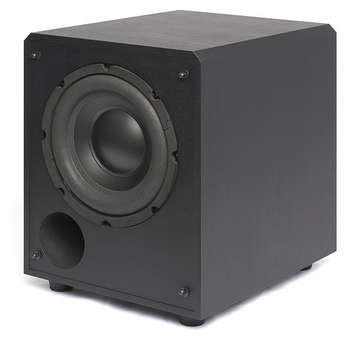 "SB 900-BLK Powered Box Subwoofer 8"" 125 watt - FREE SHIPPING picture"