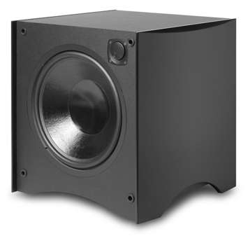 "444SB-BLK Powered Box Subwoofer - 12"" 325 watt - FREE SHIPPING picture"