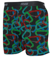 Performance Men's Tech Silk Boxer Print-Carabiner-Large