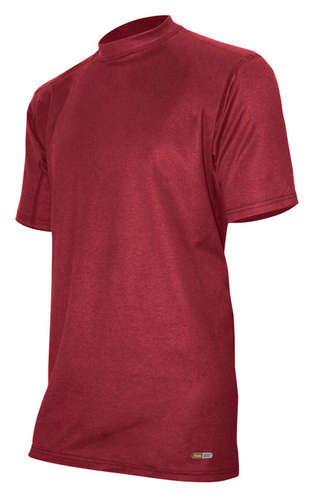 Performance Cotton Men's Crew - Cranberry - L picture