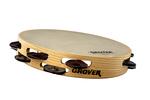 """Bantamweight™ Hybrid Silver Tambourine - 10"""""""