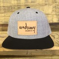 Gray/Black Snap Back
