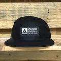 5 Panel Hat Black