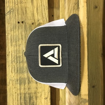 Mesh Snap Back Grey / White picture