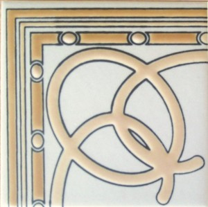 """Arcos Corner 3 3/4"""" Porcelain picture"""