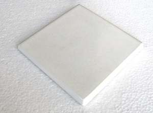 "White  -  3 3/4"" Porcelain Double Bullnose picture"