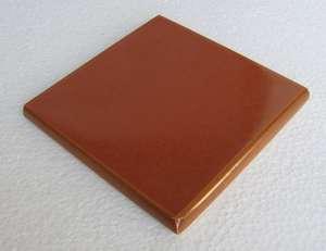 "Cinnamon  -  3 3/4"" Porcelain Double Bullnose picture"