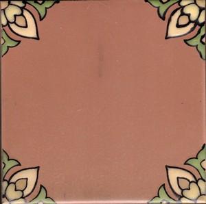 "Santa Rosa Terra Cotta Corner 5 3/4"" Porcelain SECOND picture"