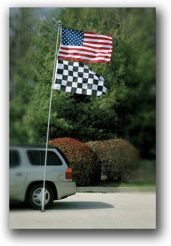 16 Ft Telescoping Tailgate Flagpole picture