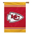 "Kansas City Chiefs 1- Sided 28"" x 40"" House Banner"