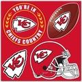 Kansas City Chiefs 4 Piece Magnet Set