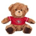"San Francisco 49Ers 10"" Plush Teddy Bear w/ Jersey"
