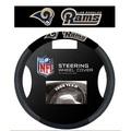 Los Angeles Rams Poly-Suede Steering Wheel Cover