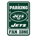 New York Jets Plastic Parking Sign - Fan Zone