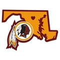 Washington Redskins Home State Decal