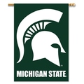 "Michigan State Spartans 2-Sided 28"" X 40"" Banner W/ Pole Sleeve"