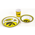 Iowa Hawkeyes   3 Pc. Dish Set